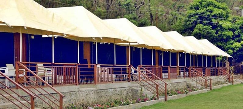 Nature Valley camp in Rishikesh