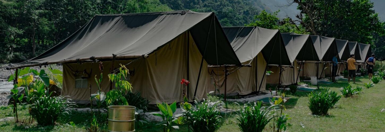 Riverside Eco Camp Rishikesh banner