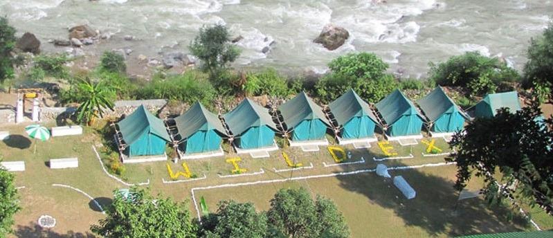 camp wildex rishikesh banner