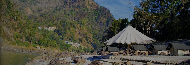 camping in shivpuri banner
