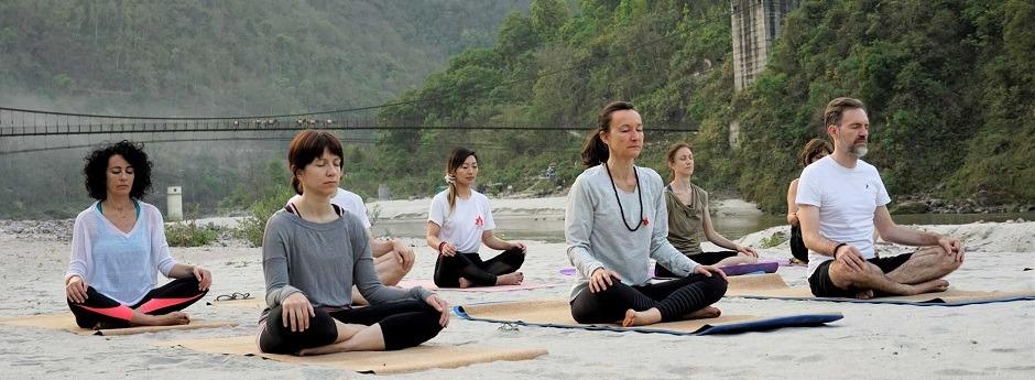 Hotel Ganga Kinare International Yoga Week