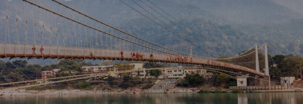 Lakshmana Jhula Suspension Bridge Rishikesh