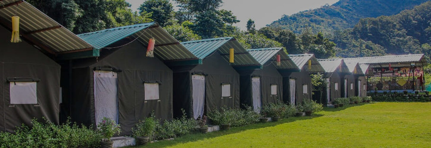 River Sided Swiss Luxury Camps