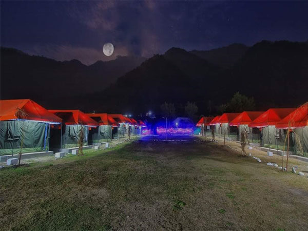 river sided swiss luxury camps 1