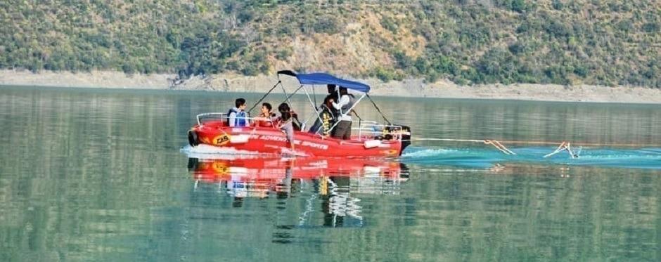 tehri dam sports activities